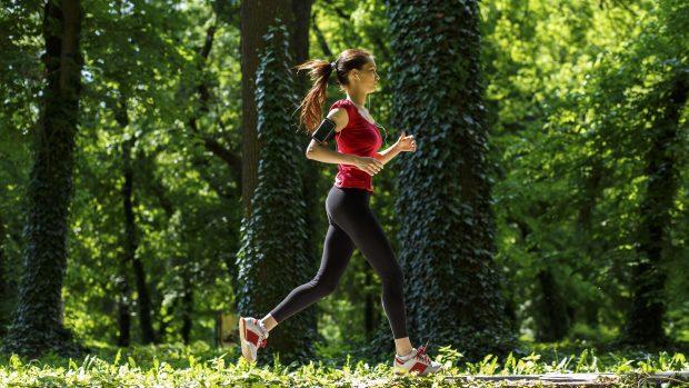 Corsa nella natura