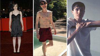 Trasformazione da Ellen Page a Elliot Page