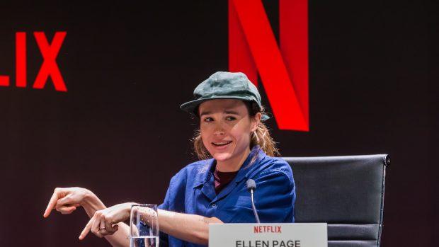 Ellen Page prima della transizione