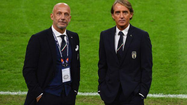 Gianluca Vialli e Roberto Mancini ospiti a Che tempo che fa