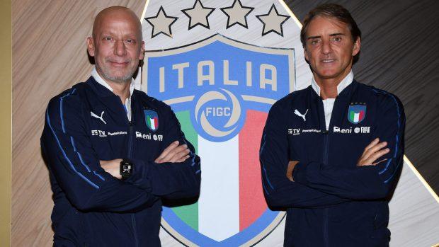 Gianluca Vialli guarito nel 2020 con Roberto Mancini