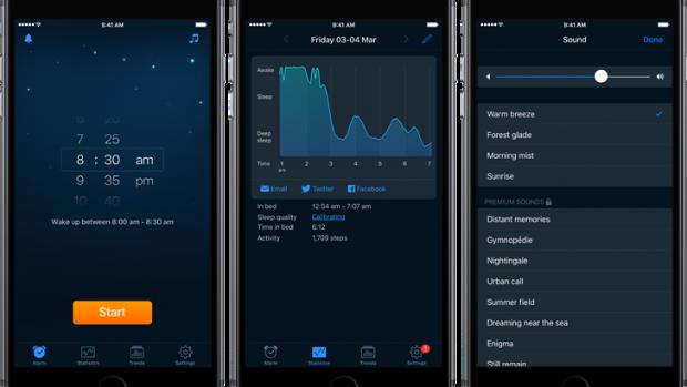 L'app Sleep Cycle