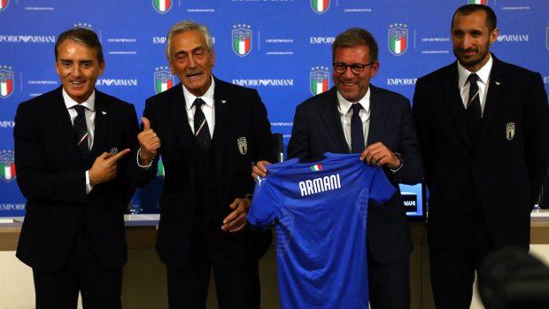 La nazionale italiana veste Armani