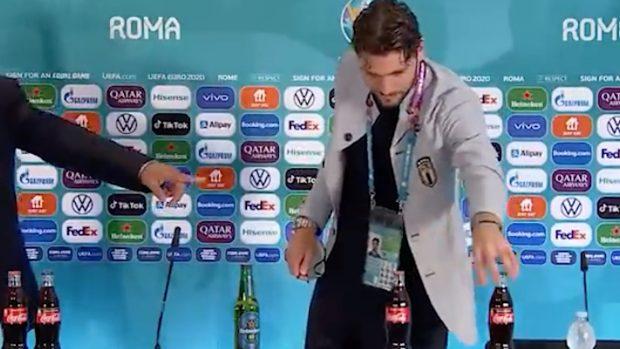 Manuel Locatelli coca cola bevande gassate fanno male