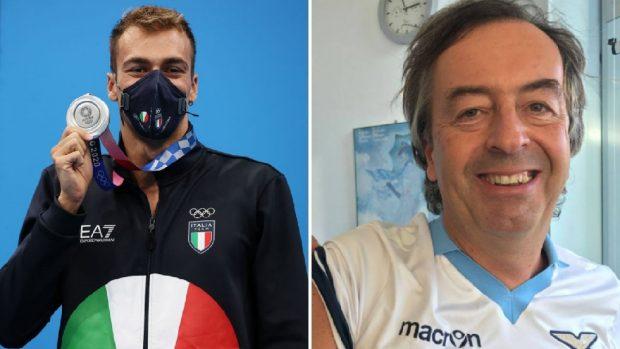 Roberto Burioni complimenti a Gregorio Paltrinieri