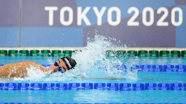 Gregorio Paltrinieri medaglie a Tokyo 2020