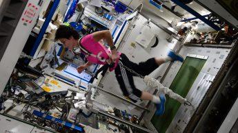 Come si alleano gli astronauti
