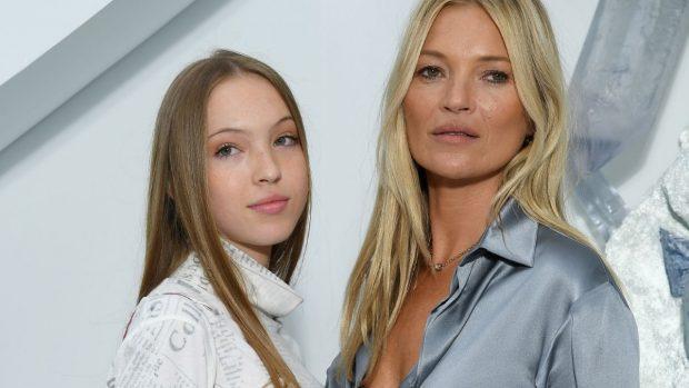 Cerotto per il diabete di Lila Moss figlia di Kate Moss